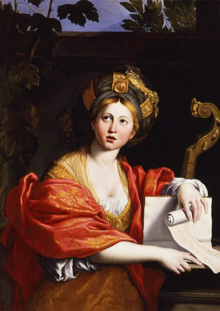 Domenichino, Sibilla Cumana (1617; olio su tela, 123 x 89 cm; Roma, Galleria Borghese)