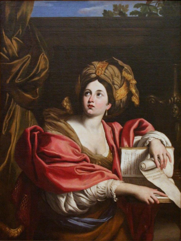 Domenichino, Sibilla Cumana (1622; olio su tela, 138 x 103 cm; Roma, Musei Capitolini, Pinacoteca Capitolina)