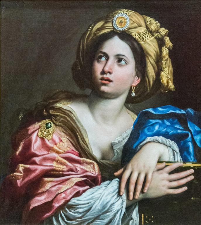 Domenichino, Sibilla Cumana o Sibilla Persica (anni Venti del XVII secolo; olio su tela, 77,4 x 68,2 cm; Londra, Wallace Collection)