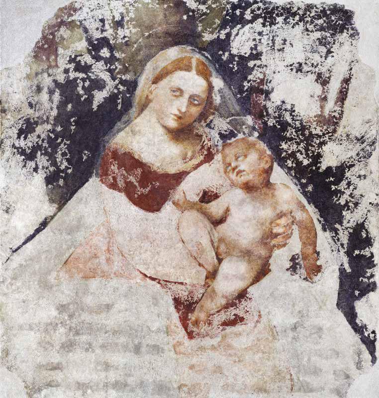 Giovanni Antonio de' Sacchis detto il Pordenone, Madonna della Loggia (1516; affresco, 153 x 133 cm; Udine, Civici Musei e Gallerie)