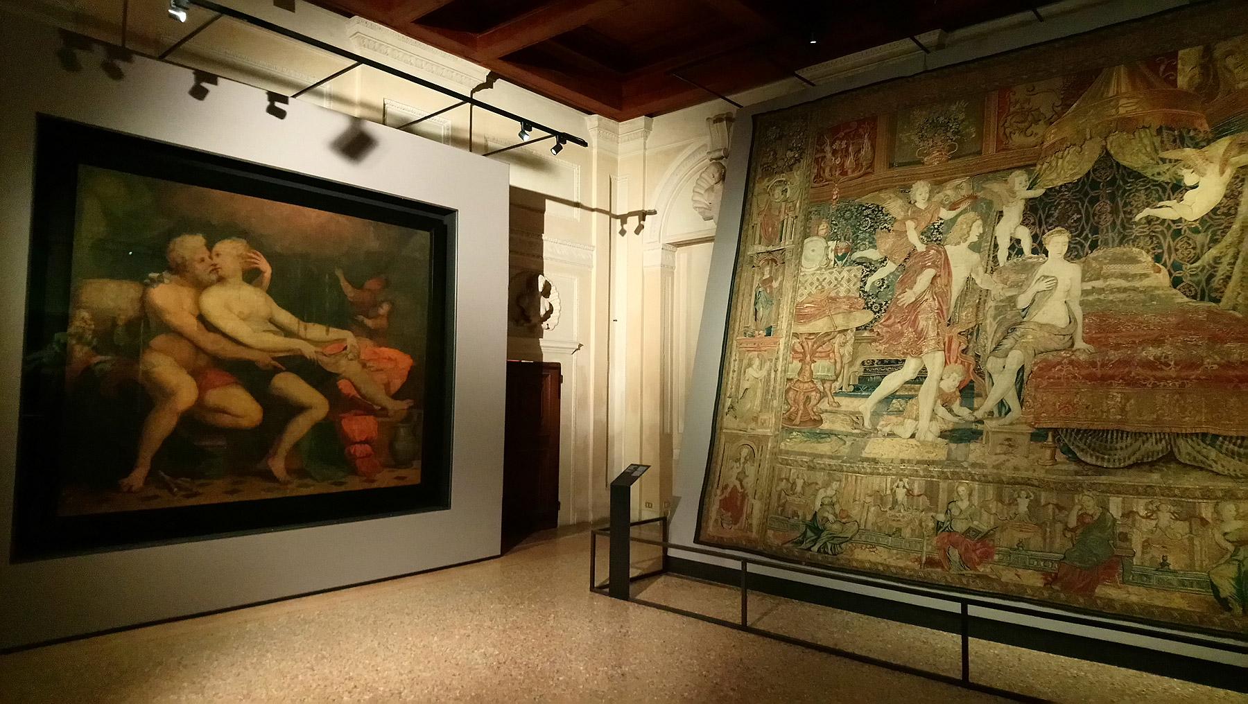 Sala della mostra Giulio Romano. Arte e desiderio