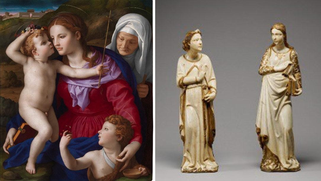 Il Getty di Los Angeles acquista due capolavori italiani: un dipinto del Bronzino e due marmi di Giovanni di Balduccio