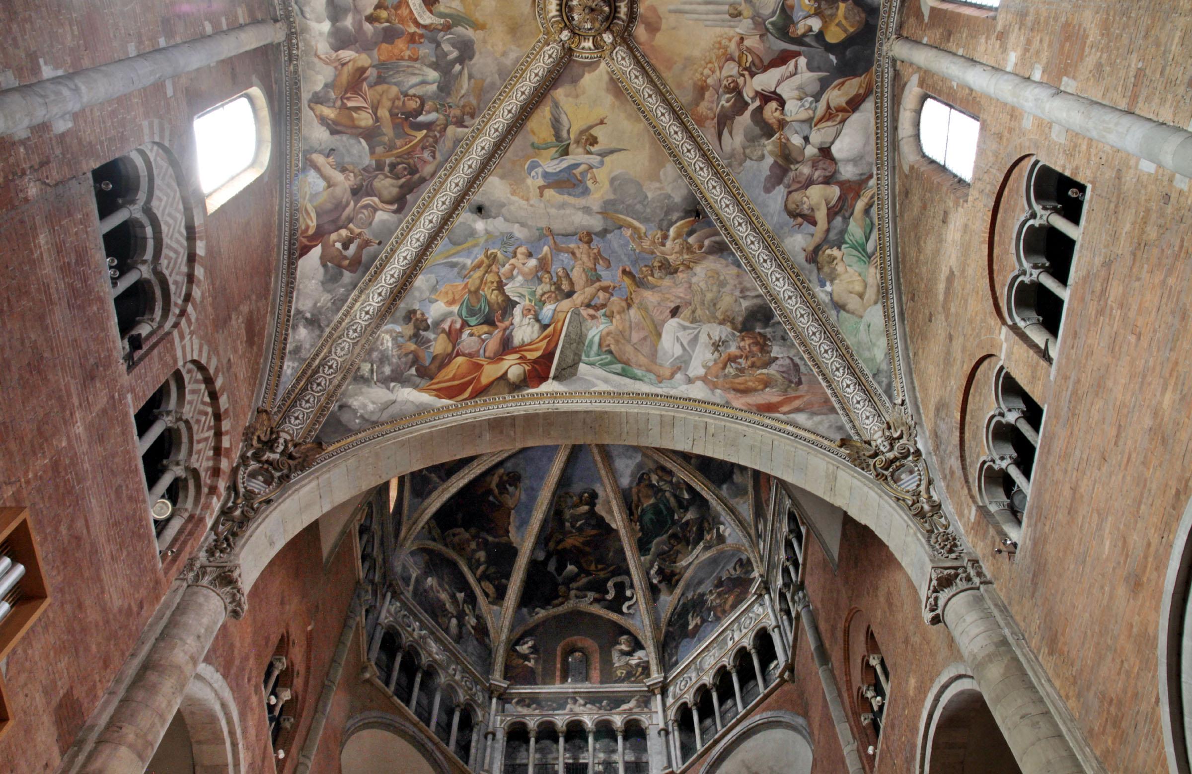 A Piacenza per tre mesi si potrà salire sulla cupola del Duomo per vedere gli affreschi di Ludovico Carracci