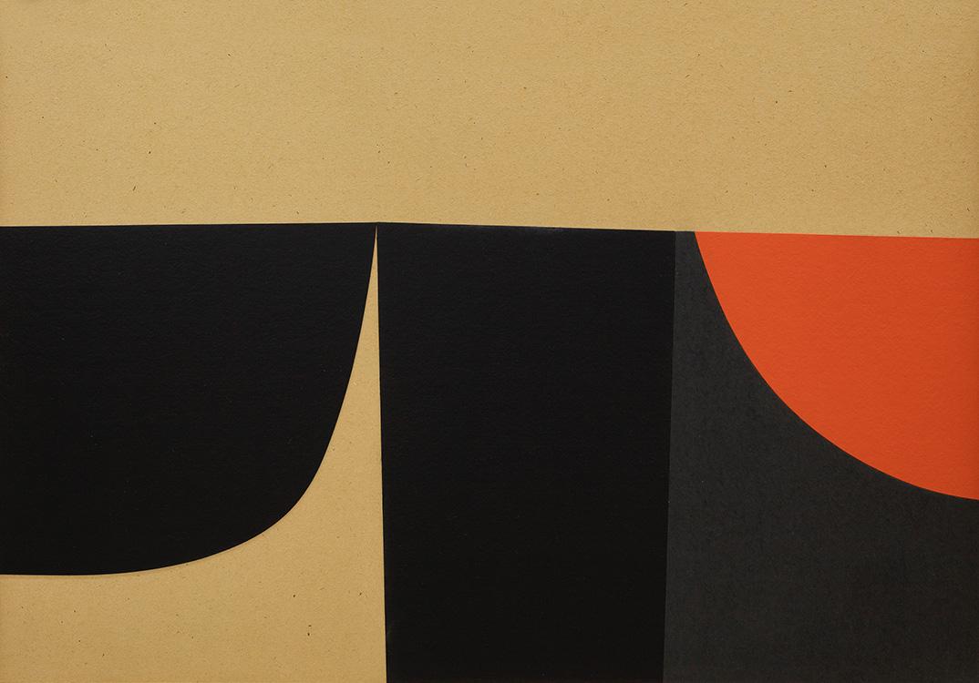 La grafica di Alberto Burri è in mostra alla Galleria Vistamarestudio di Milano