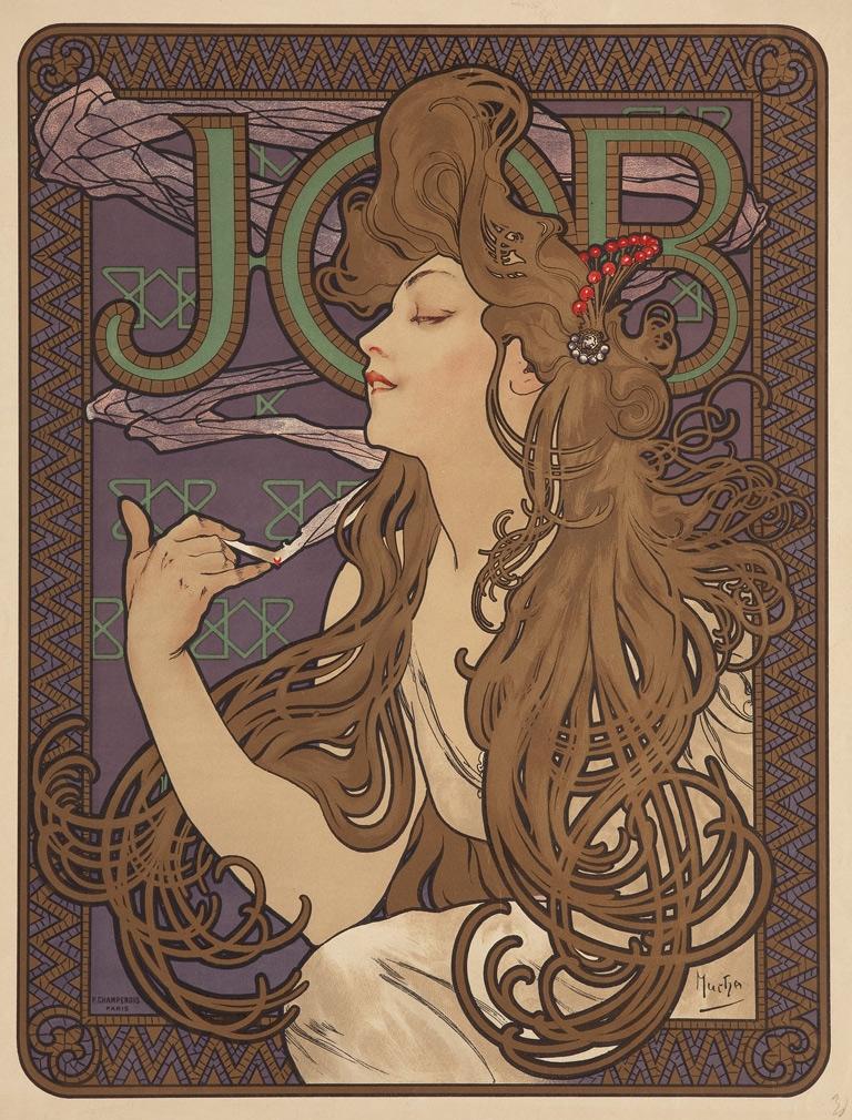 Da Mucha a Grasset, alla Venaria Reale una mostra sull'Art Nouveau con 200 opere