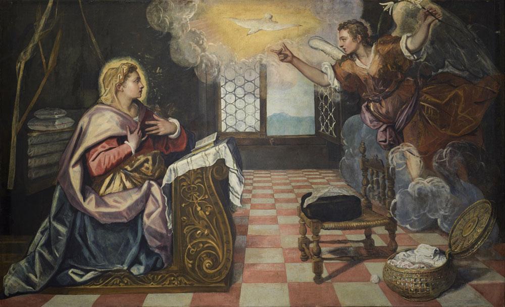 A  Lecco il Tintoretto rivelato: esposta l'Annunciazione del Doge Grimani