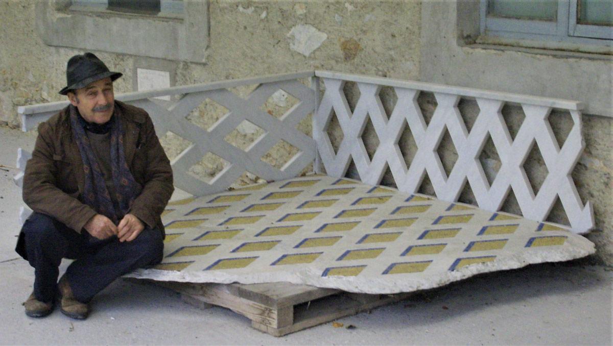 Addio ad Antonio Trotta, lo scultore che rendeva il marmo leggero come carta