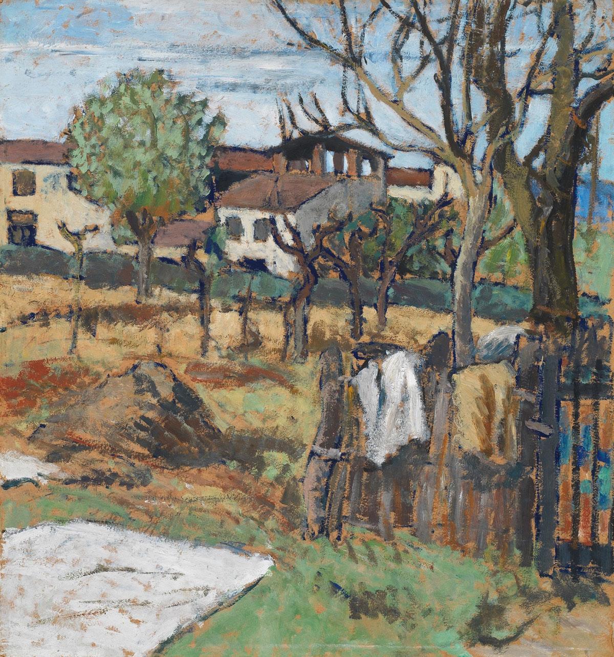 Due grandi del primo Novecento, Ardengo Soffici e Felice Carena, in mostra assieme a Poggio a Caiano
