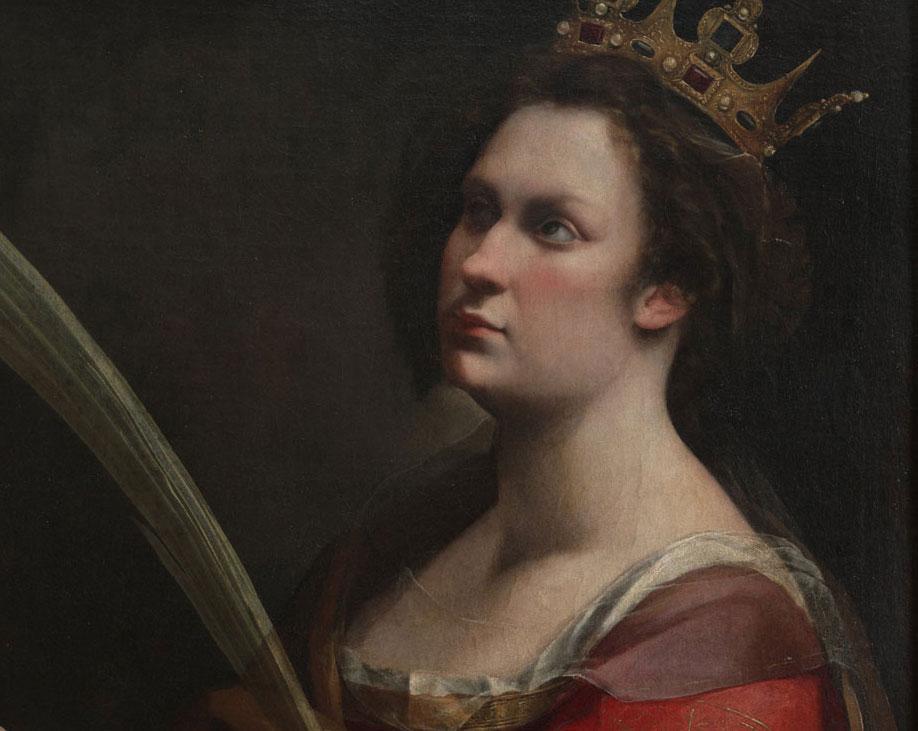 Scoperto un dipinto di Artemisia Gentileschi nascosto sotto la sua Caterina d'Alessandria