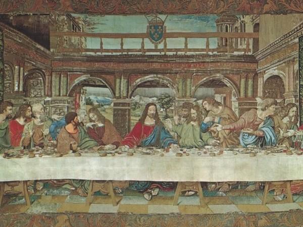 Milano, a Palazzo Reale un arazzo dai Musei Vaticani e un film per celebrare Leonardo da Vinci
