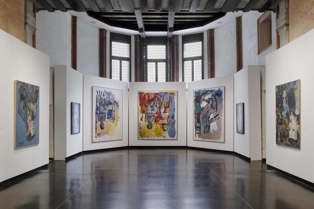 Georg Baselitz alle Gallerie dell'Accademia di Venezia, prima mostra di un artista vivente al museo veneziano