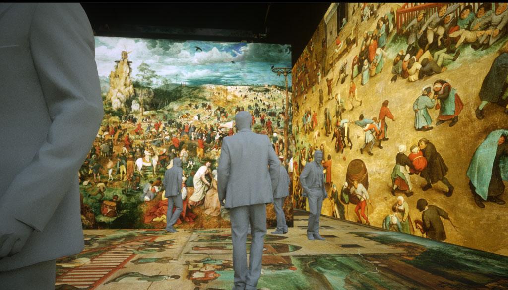 Camminare dentro un'opera di Brugel: a Bruxelles uno spettacolo multimediale per entrare nelle opere del grande pittore