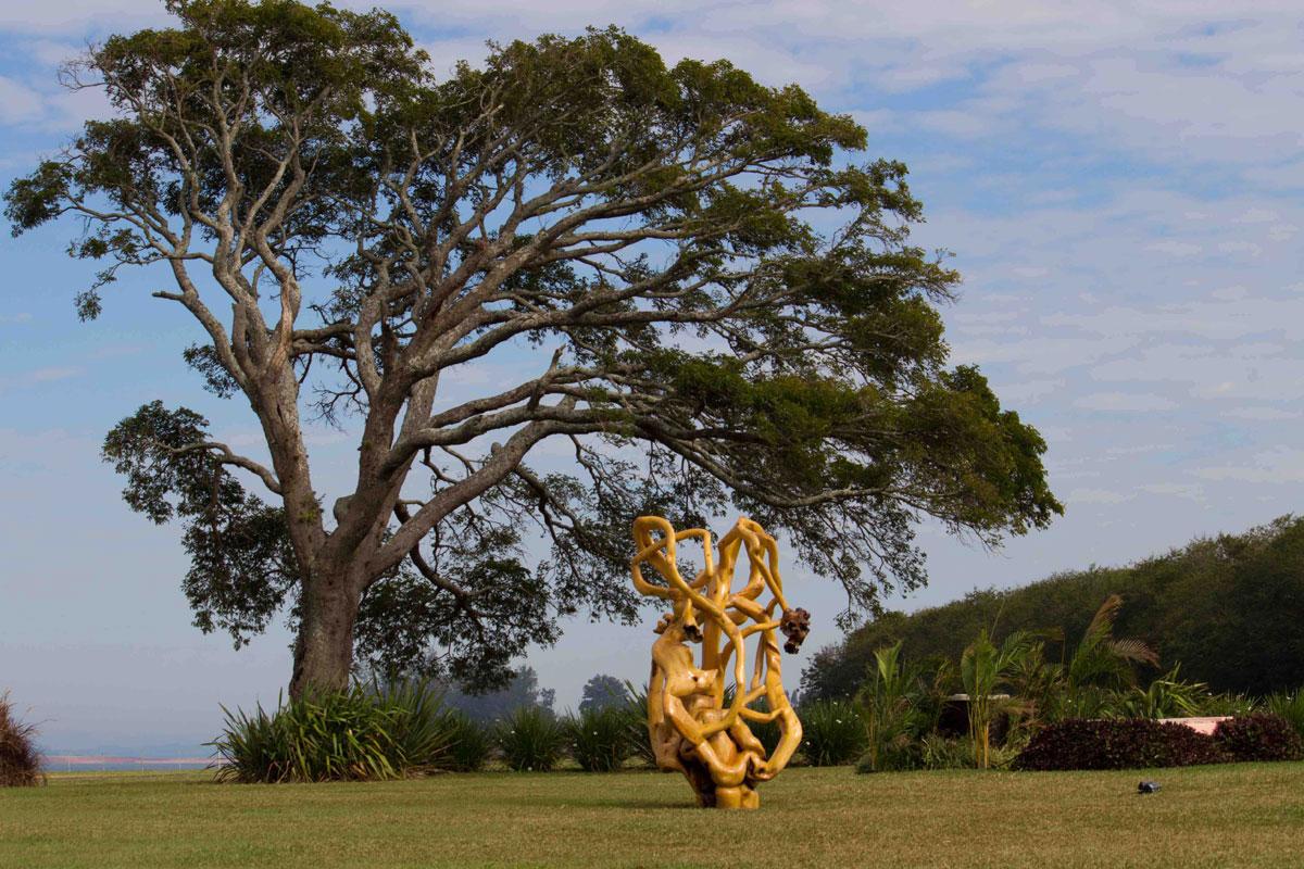 Dalle foreste dell'Amazzonia a Milano, l'arte brasiliana di Bia Doria è in mostra a Palazzo Litta