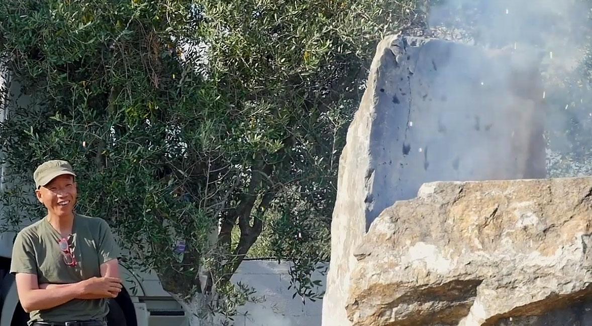 Pompei, l'artista Cai Guo-Qiang ricreerà con polvere e fuochi l'esplosione del Vesuvio che distrusse la città
