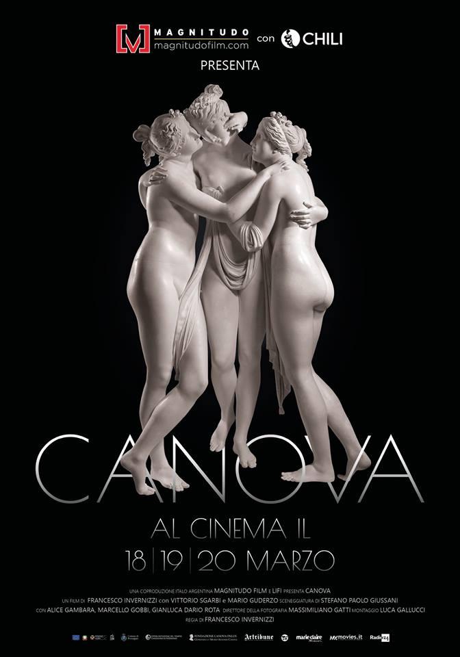Canova adesso arriva anche al cinema. Il film dedicato al genio del neoclassicismo nelle sale dal 18 marzo