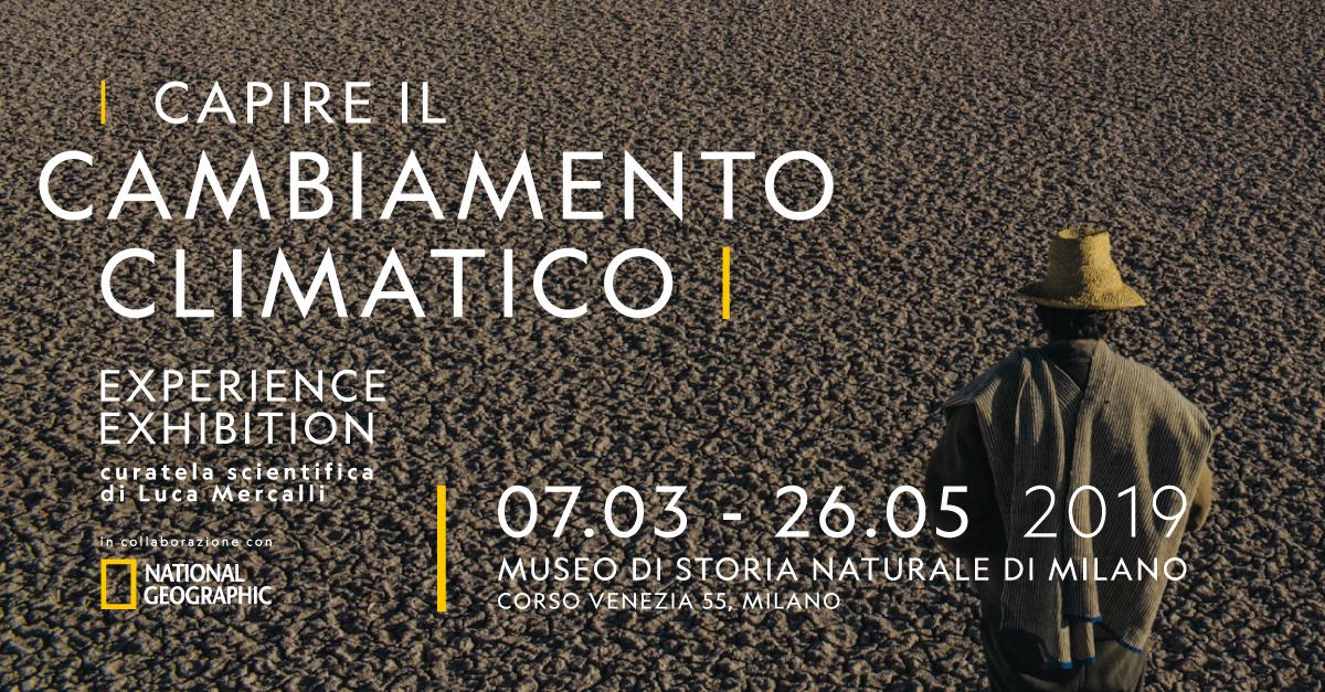 Milano, al Museo di Storia Naturale una mostra immersiva per capire il cambiamento climatico