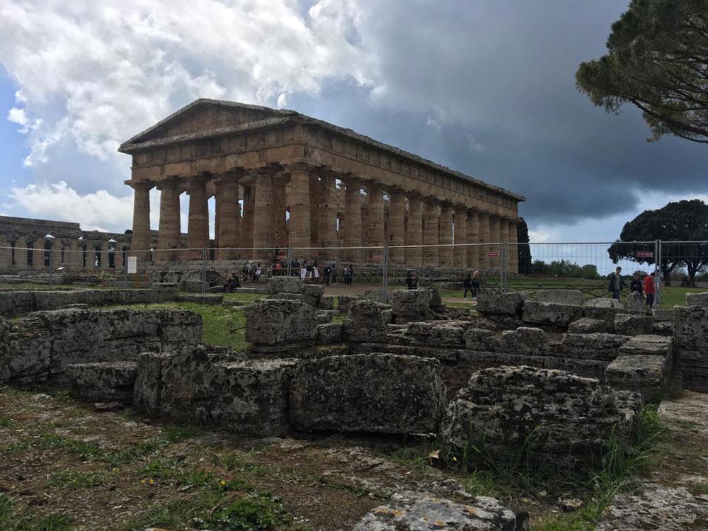 Paestum: nuovi scavi rivelano la seconda vita del Tempio di Nettuno
