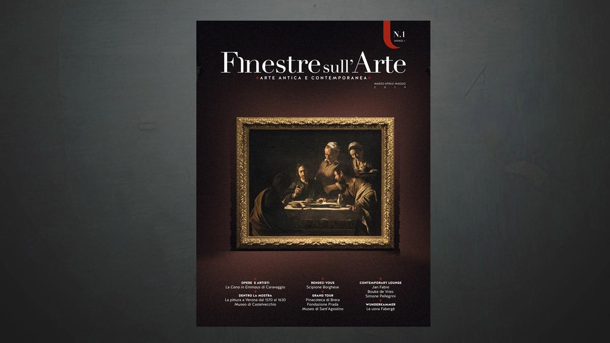 Perché abbiamo scelto Caravaggio per la cover del nuovo magazine cartaceo di Finestre sull'Arte?