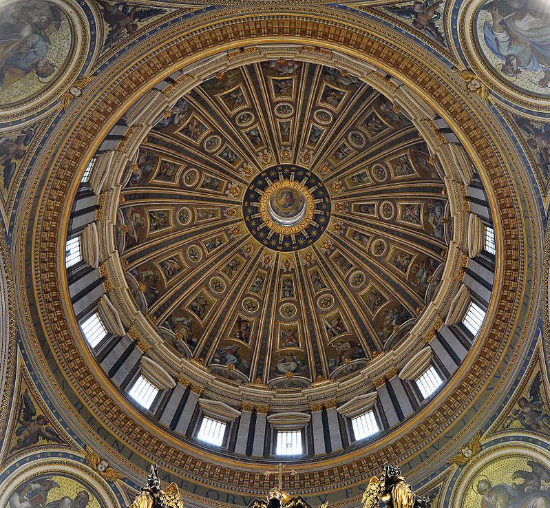 Nuova illuminazione per la Basilica di San Pietro in Vaticano