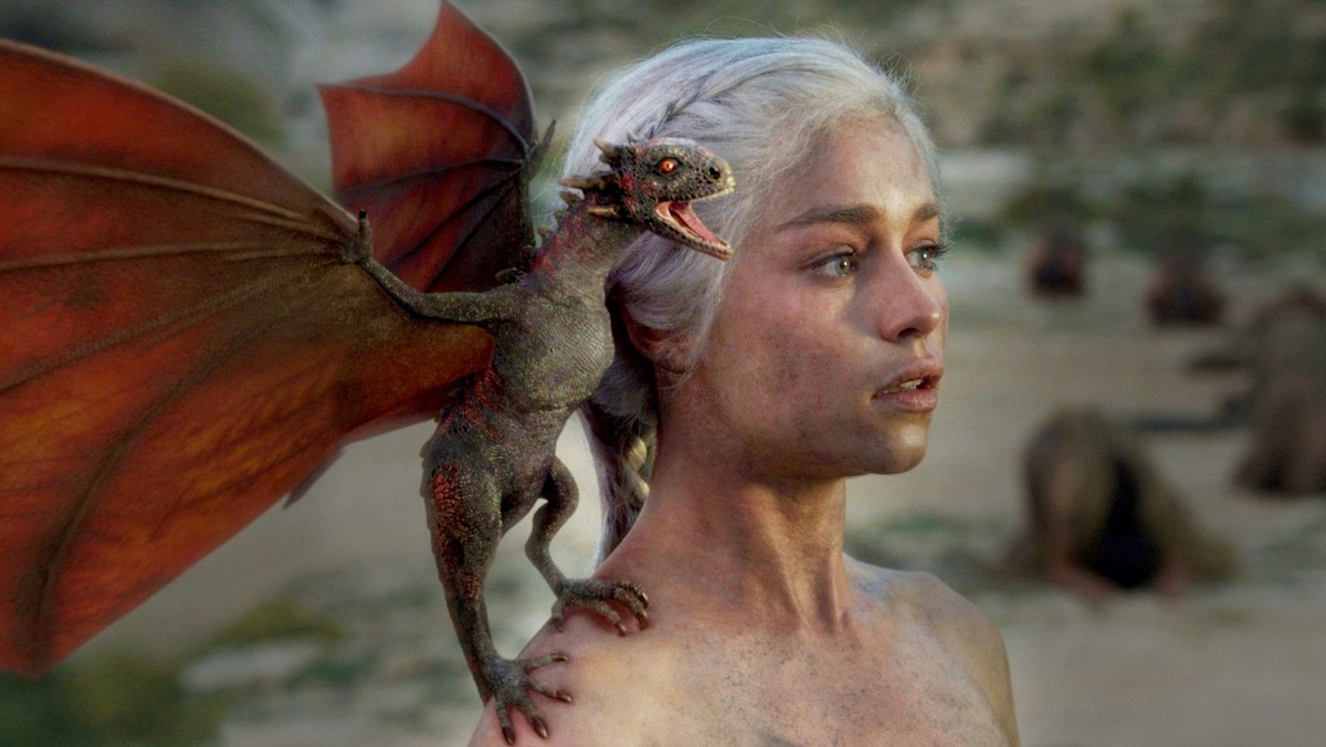 La nascita dei draghi di Daenerys