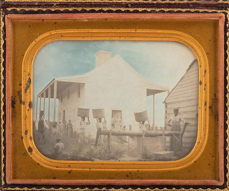 Il Nelson-Atkins Museum di Kansas City acquisisce la più antica foto nota raffigurante schiavi in America