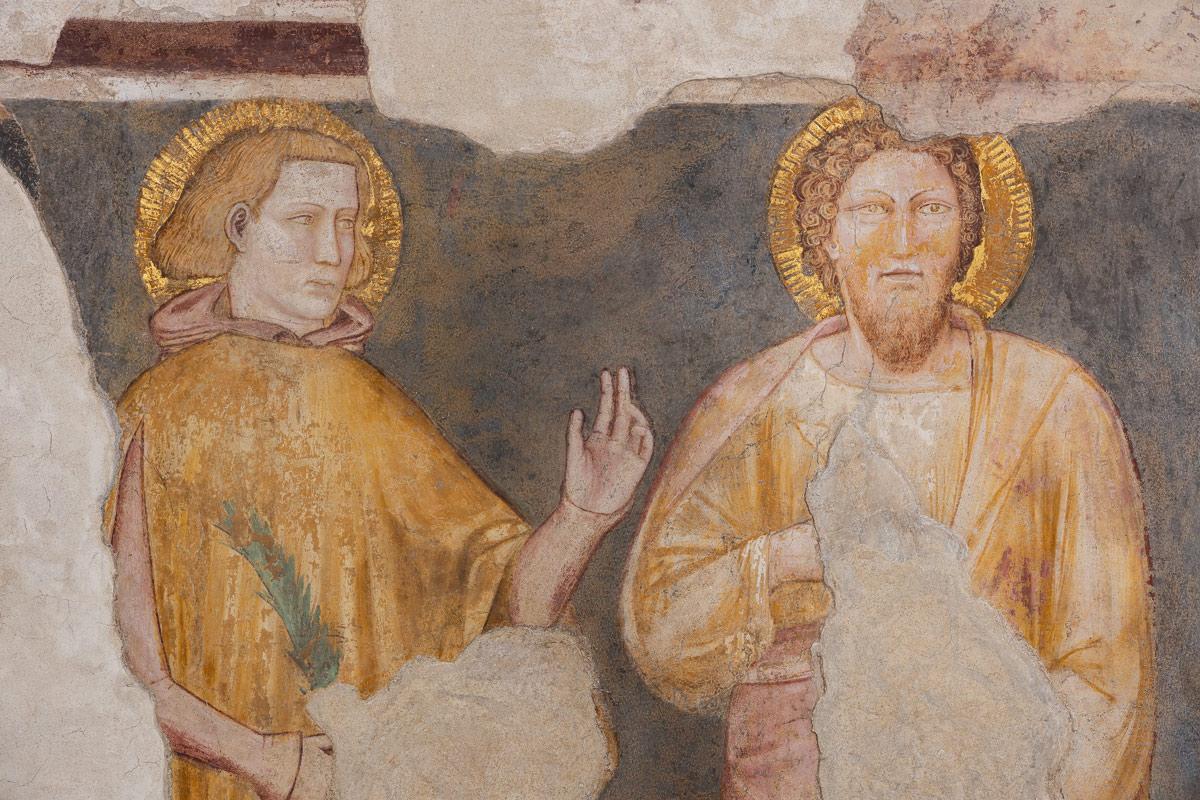 Padova, nuove scoperte e ipotesi sugli affreschi trecenteschi della Basilica di Sant'Antonio. Le foto