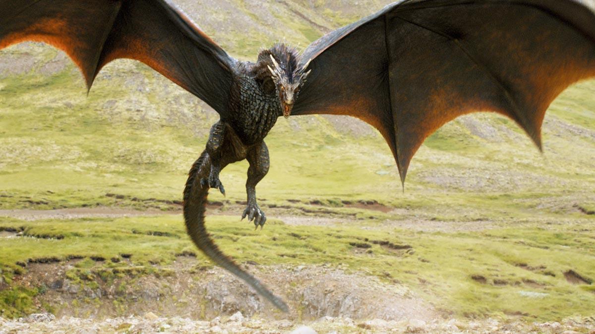 Uno dei draghi di Daenerys