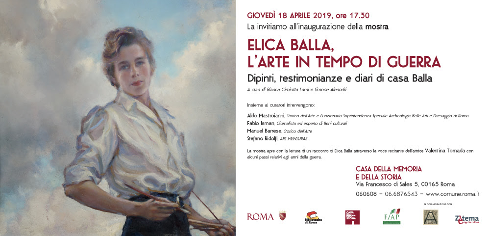 Vita e opere di Elica Balla alla Casa della Memoria e della Storia di Roma