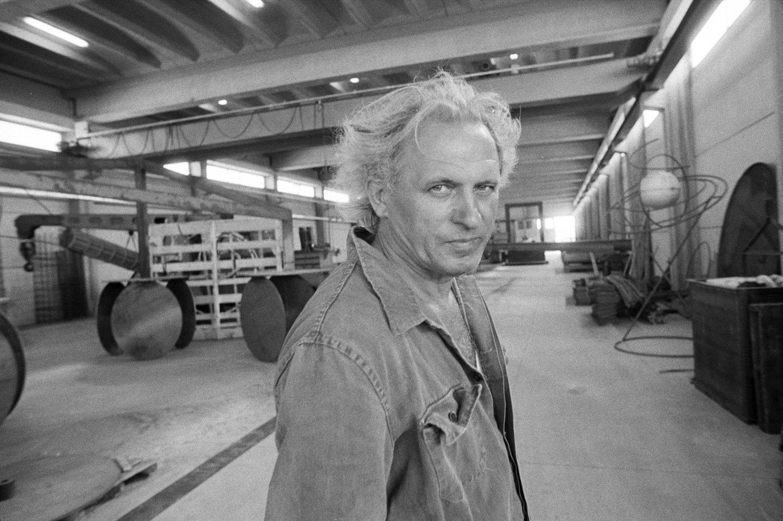 Addio a Eliseo Mattiacci, lo scultore dellAddio a Eliseo Mattiacci, lo scultore dell'ordine cosmico