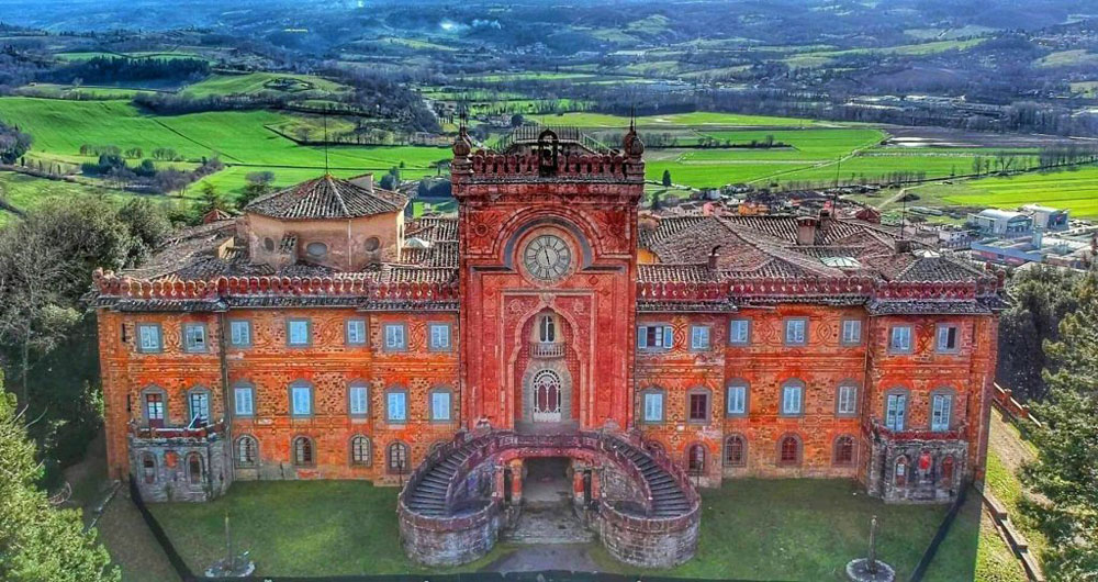 Il Castello di Sammezzano inserito tra i 14 siti europei più in pericolo