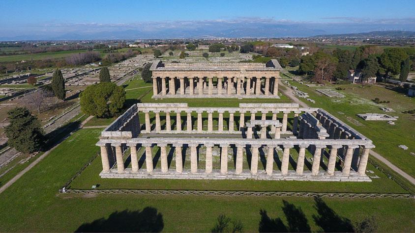 Nasce la nuova app gratuita del Parco Archeologico di Paestum