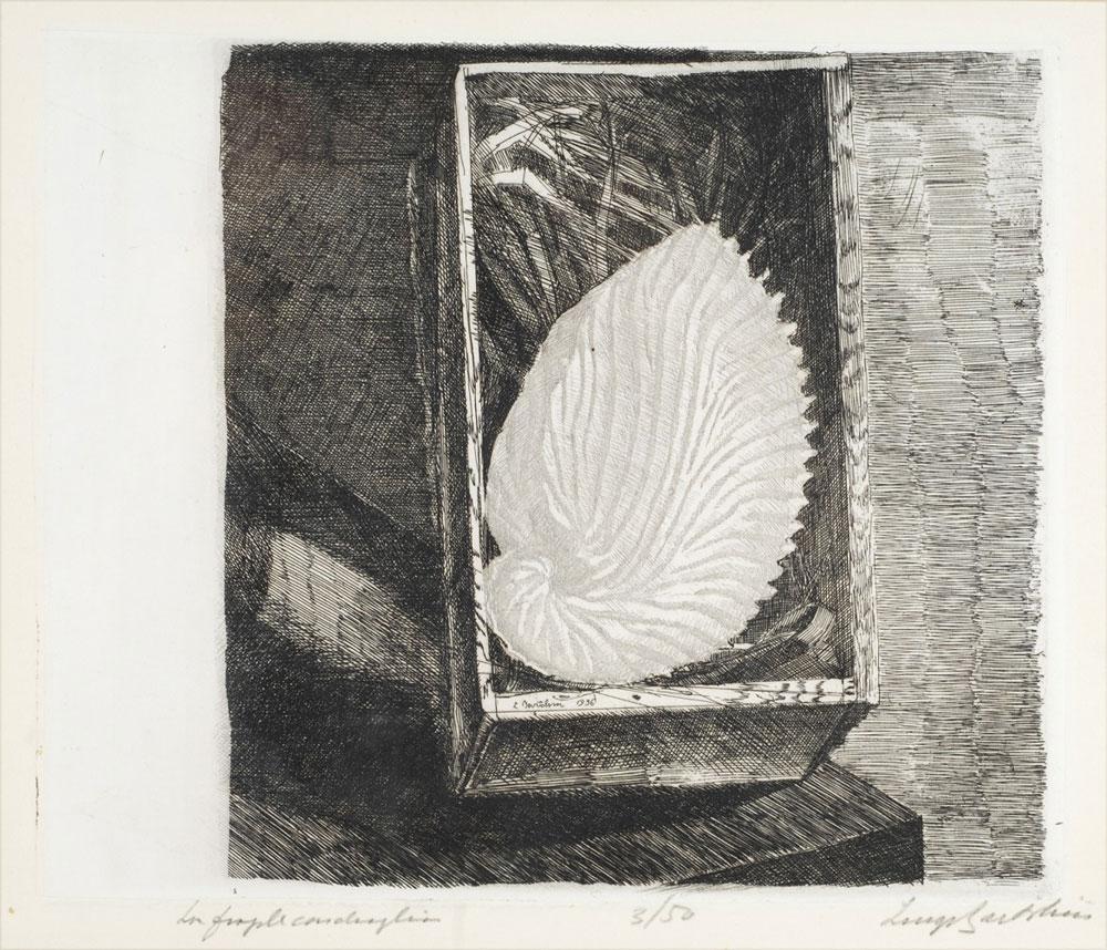 Entrano nelle collezioni degli Uffizi otto acqueforti di Luigi Bartolini