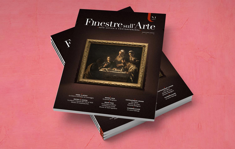 C'è una nuova rivista d'arte. Su carta. Da leggere, da sfogliare e da collezionare