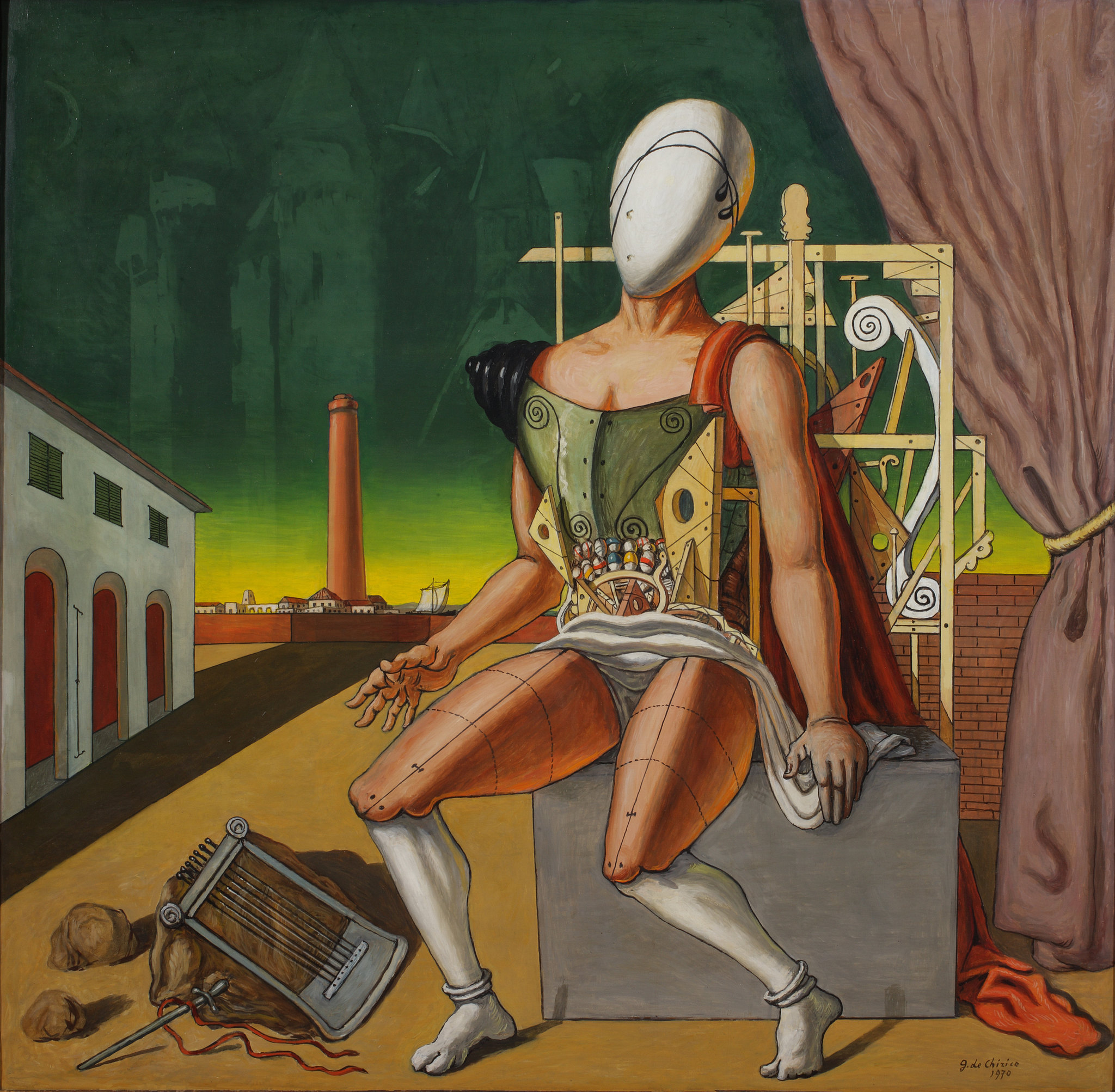 A Milano la grande mostra su Giorgio de Chirico, a Palazzo Reale