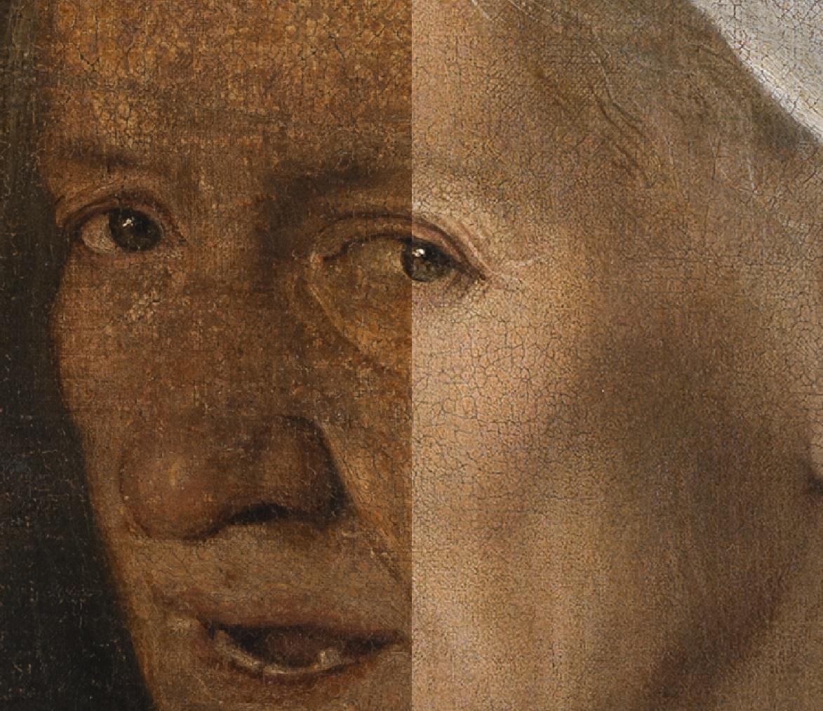 """Venezia, restaurata la """"Vecchia"""" di Giorgione. L'opera torna visibile dopo sette mesi (e parte per un tour negli USA)"""
