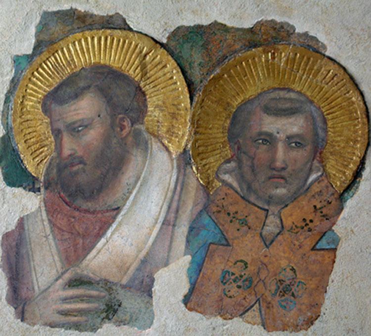 L'Opificio delle Pietre Dure presenta il restauro del Frammento Vaticano di Giotto