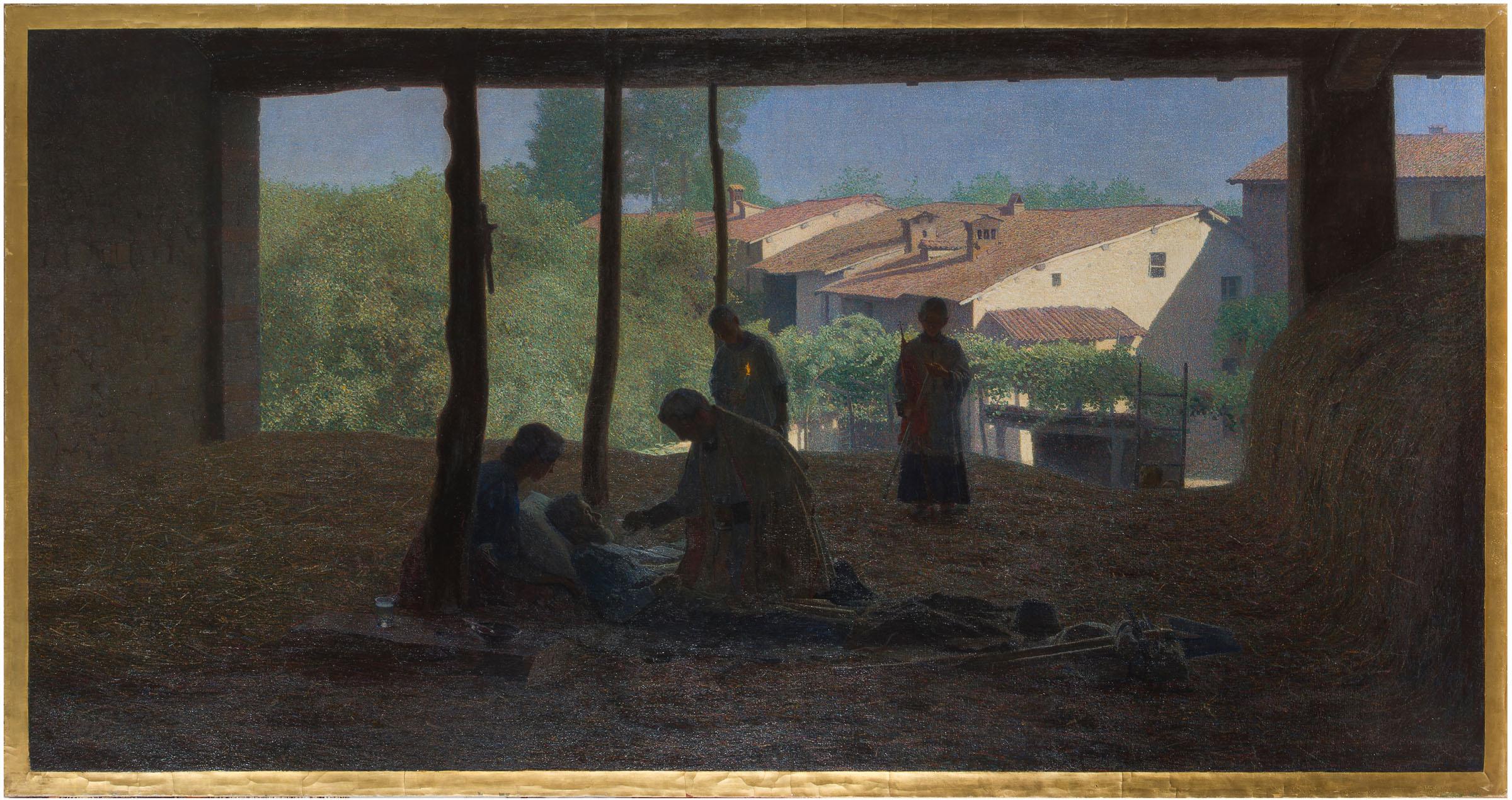 """Una mostra su Giuseppe Pellizza da Volpedo nel suo borgo natale riporta """"Sul fienile"""" nel luogo in cui fu concepito"""