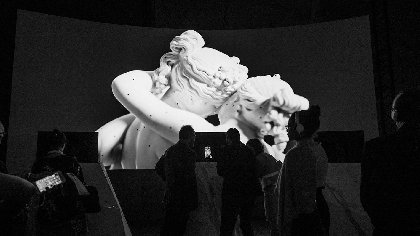 Il rapporto tra Canova e Carrara in una mostra multimediale al Museo CARMI nella città dei marmi