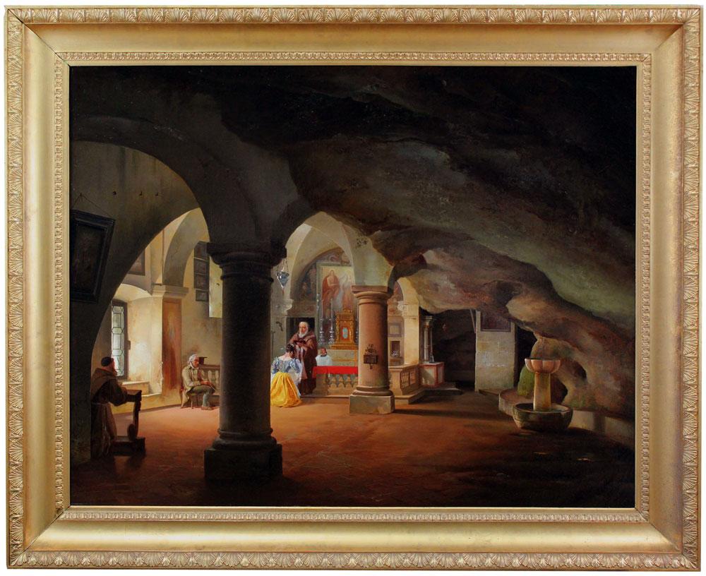 Esposto ad Antiquariato Nazionale un inedito capolavoro dell'ottocentesco Federico Moja