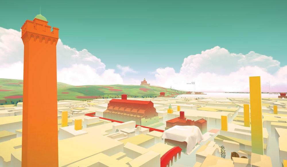 Com'è e come sarà Bologna? A Palazzo Pepoli arriva un'applicazione di realtà virtuale per scoprirlo