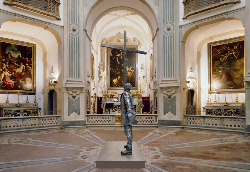 Jan Fabre a Napoli dialoga con Caravaggio e porta in quattro sedi opere storiche e opere inedite