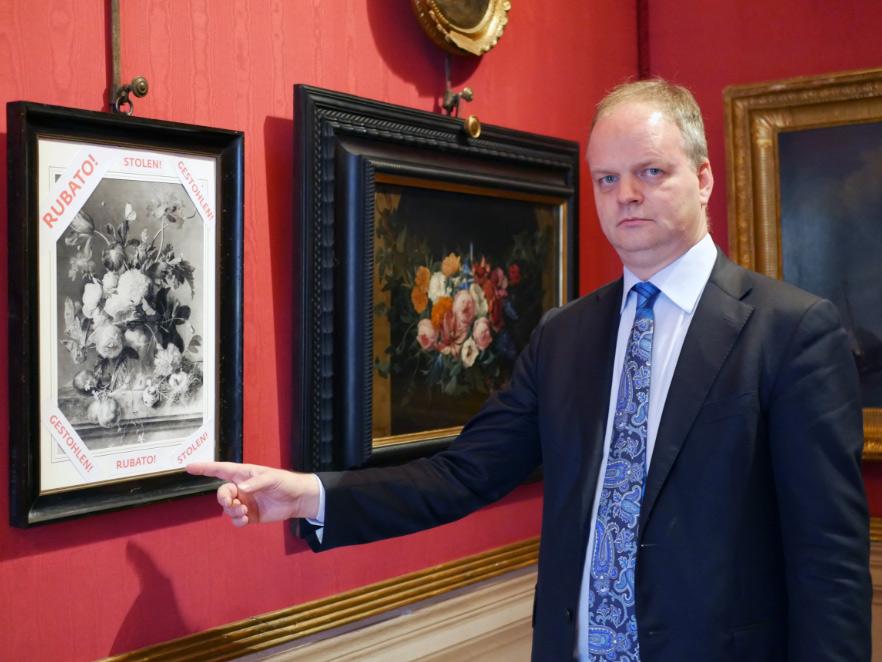 La Germania restituirà a Palazzo Pitti il quadro di van Huysum rubato nel 1944