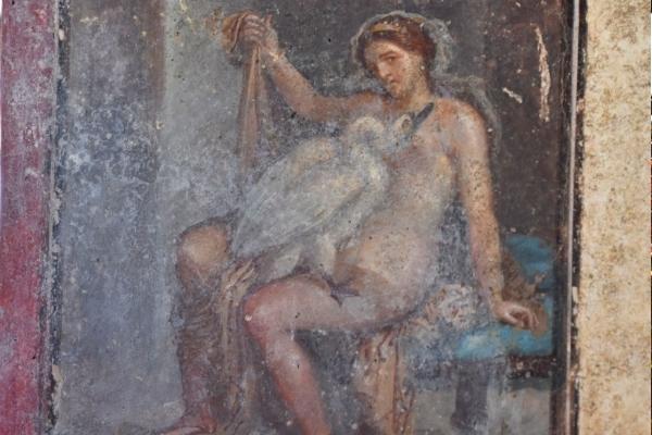 Importanti aperture a Pompei. Per la prima volta il pubblico potrà vedere la Leda con il cigno scoperta di recente