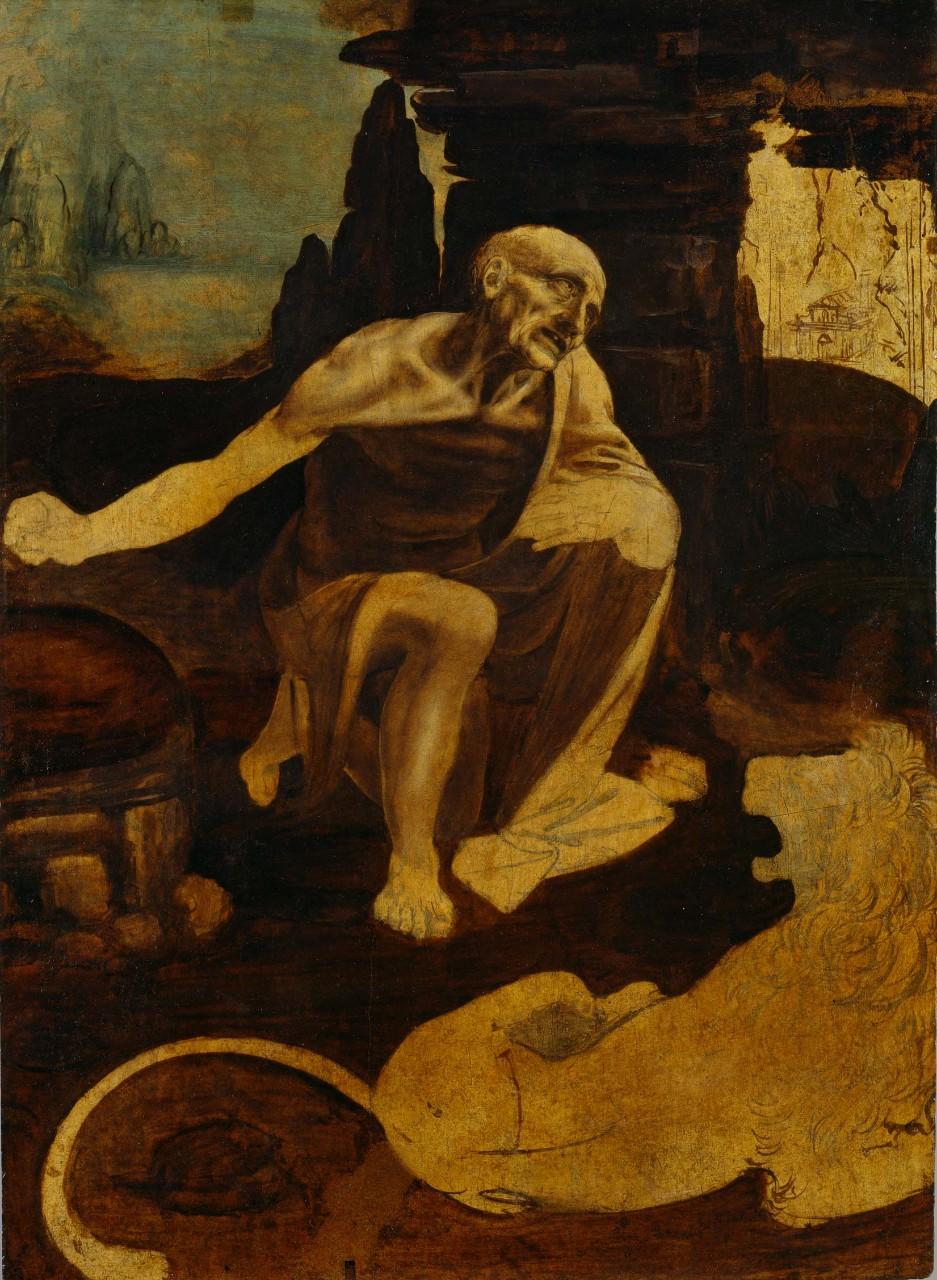 Ai Musei Vaticani si può vedere gratuitamente il san Girolamo di Leonardo da Vinci