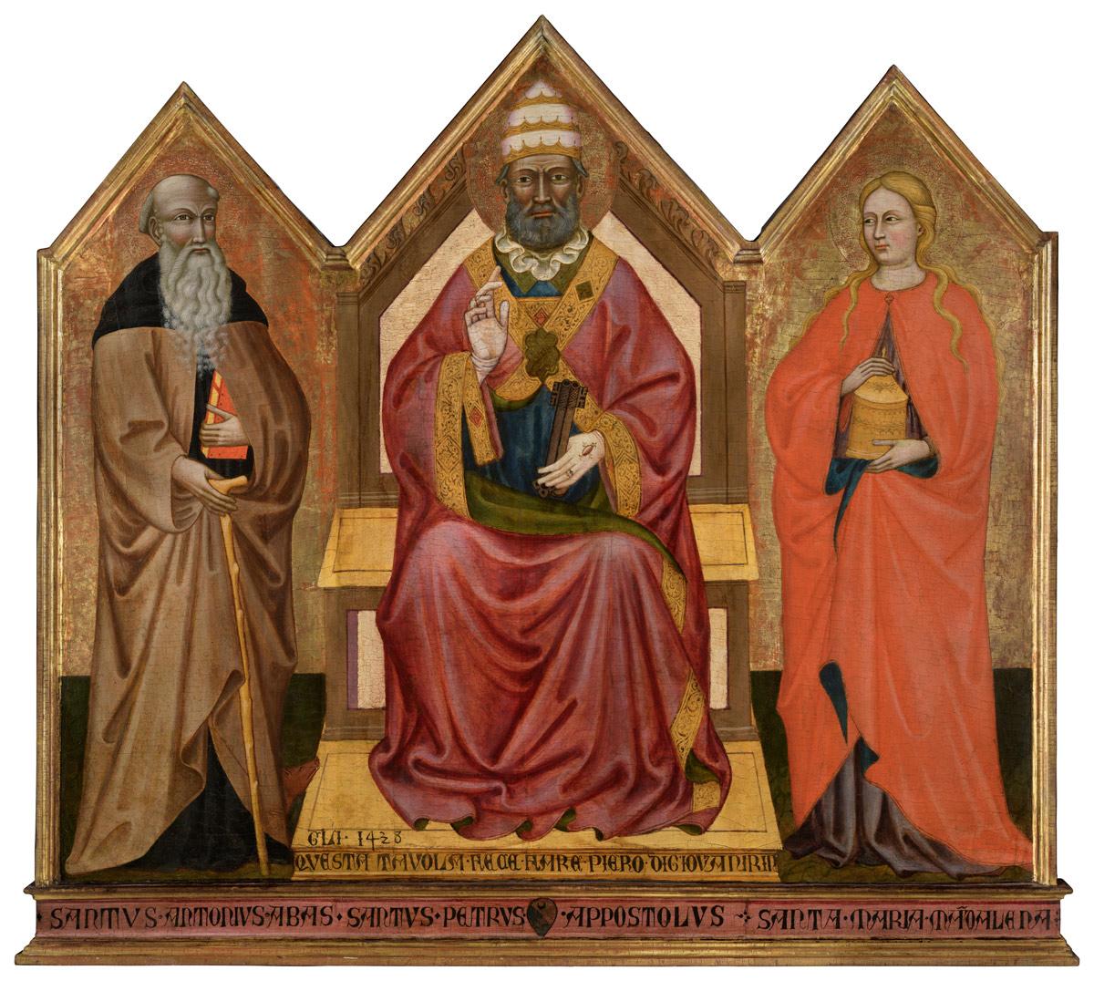 Miracolo ad Avenza: la parrocchia del borgo ottiene il suo trittico del 1438 dopo più di cinquecento anni