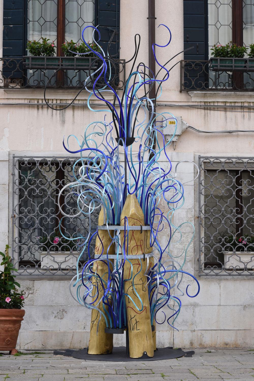 Poetry, a glass garden: il nuovo progetto di Marco Nereo Rotelli per Ca' Sagredo