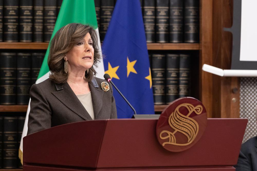 Il dibattito su Caravaggio entra in Senato: Maria Elisabetta Alberti Casellati interviene sulla Vocazione di san Matteo