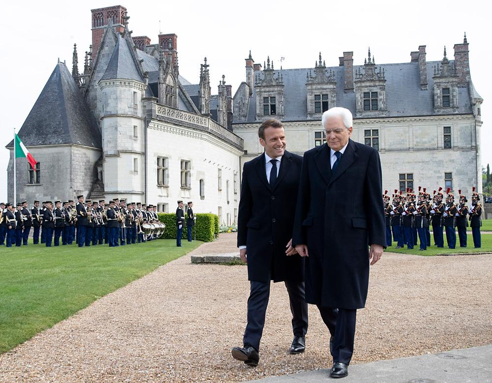 """Francia e Italia si riuniscono a Notre-Dame e Amboise nel nome dell'arte. Macron: """"il nostro legame è indistruttibile"""""""