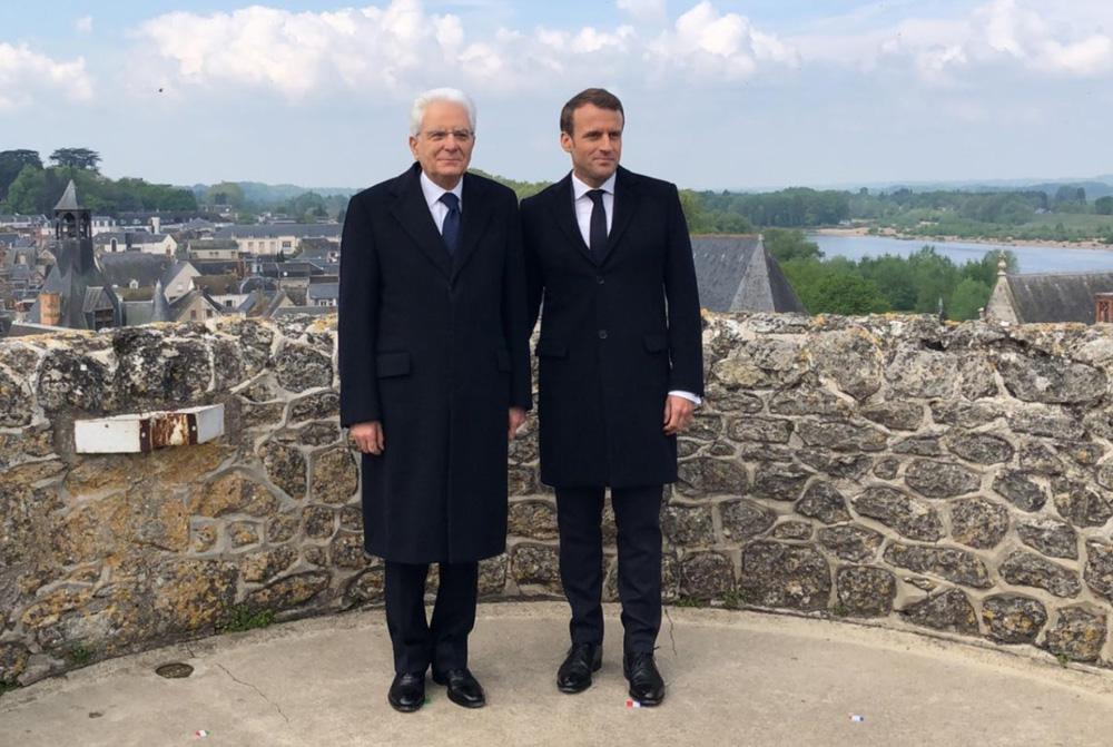 500 anni fa scompariva Leonardo, Mattarella ospite da Macron ad Amboise per dar via alle celebrazioni
