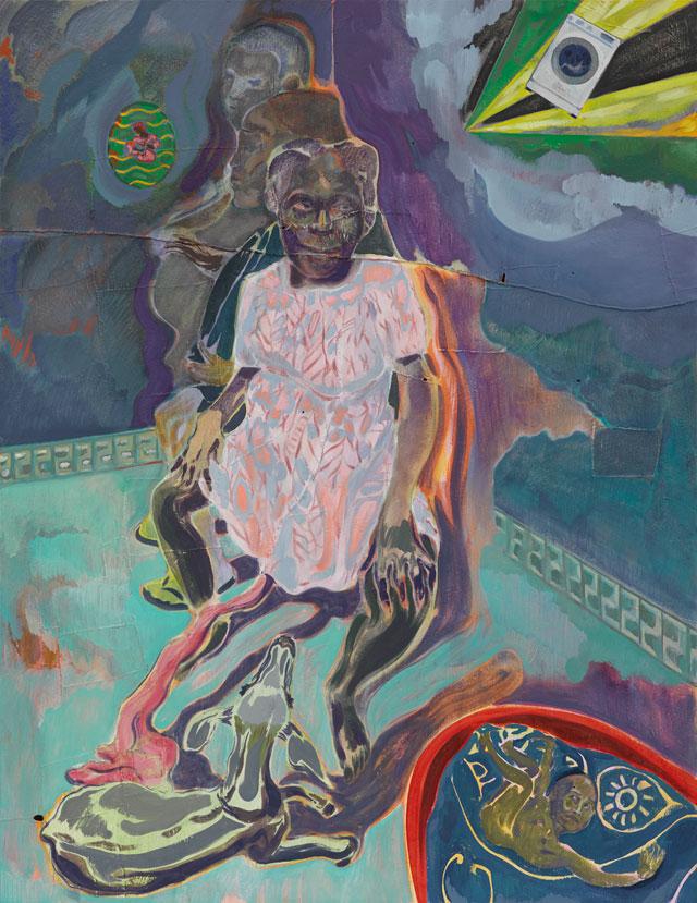 Le opere dell'artista anglo-kenyota Michael Armitage per la prima volta in Italia. A Torino